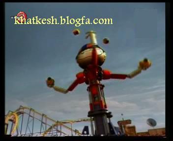 روبات خیمه شب بازی